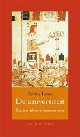De universiteit –  een leerschool in humanisering